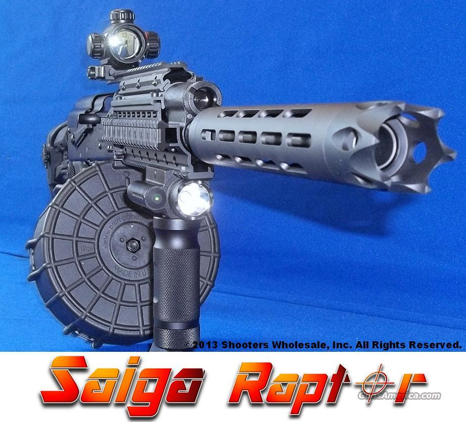 SAIGA RAPTOR 12 GAUGE TACTICAL AK47 SHOTGUN PACKAGE  Guns > Shotguns > Saiga Shotguns > Shotguns