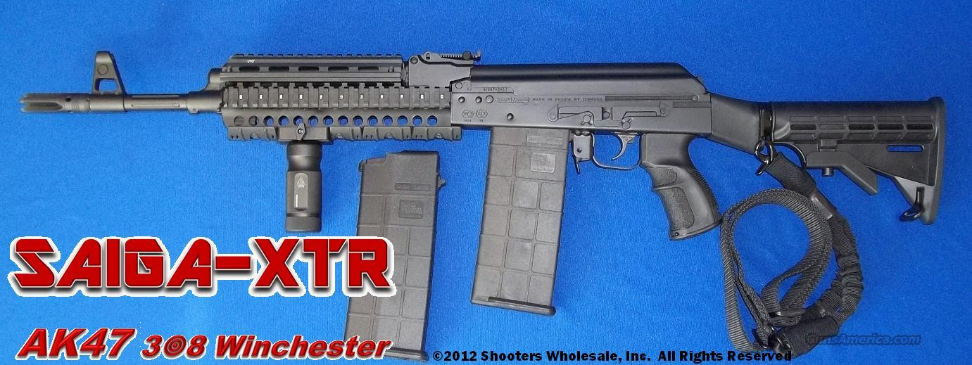 SAIGA-XTR AK47 TACTICAL IN .308 WINCHESTER!  Guns > Rifles > AK-47 Rifles (and copies) > Full Stock