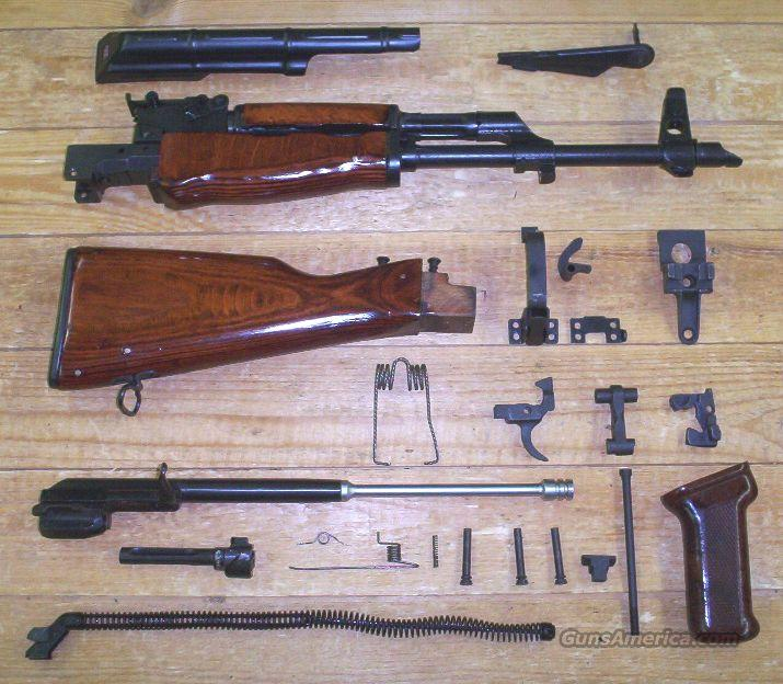 AK47 Custom Parts Kit: Hot Blued Metal+Hand Finished Wood!  Guns > Rifles > Parts Guns - Rifles
