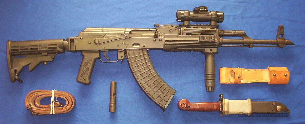 Black Widow AK47 TACTICAL! Red Dot Scope+Collapsible Stock+MORE!  Guns > Rifles > AK-47 Rifles (and copies) > Full Stock
