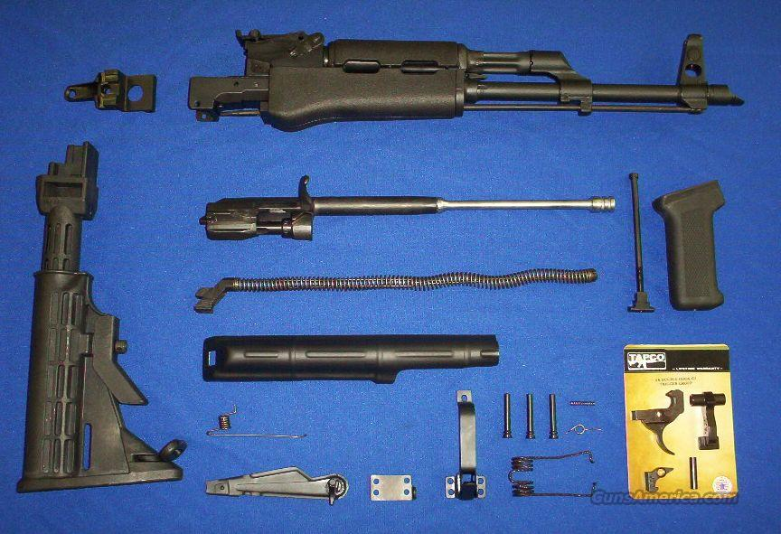 AK47 Parts Kit: Hot Blued Metal+6-Position Collapsible Stock+G2 Trigger Group+MORE!   Non-Guns > Gun Parts > Military - Foreign
