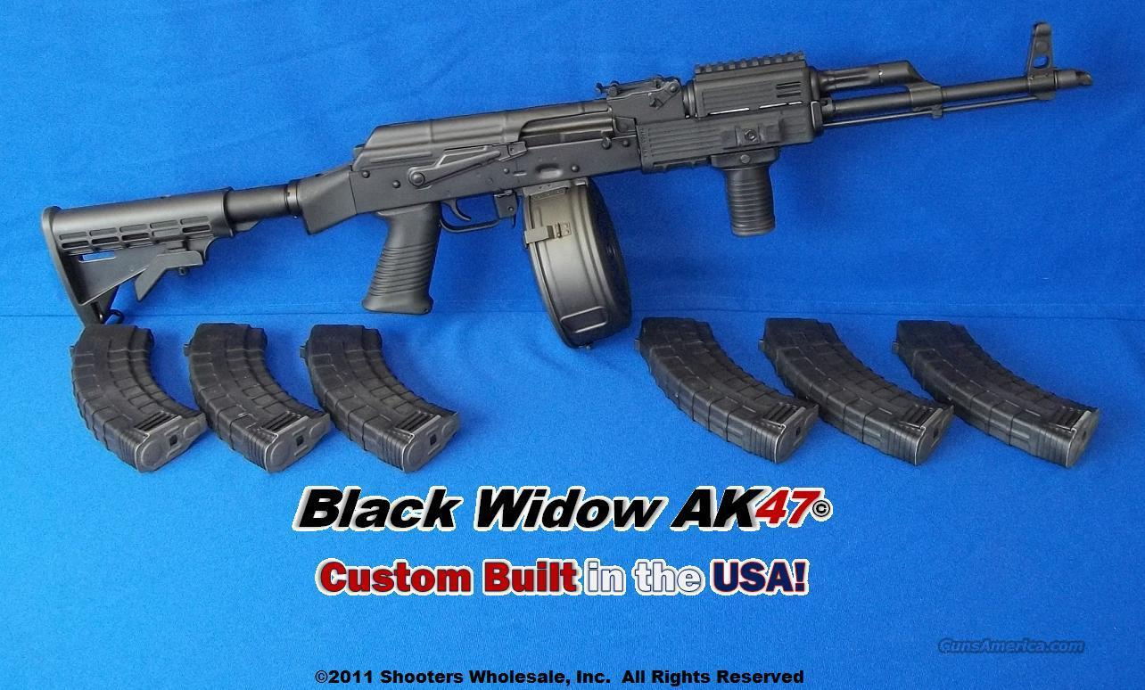 BLACK WIDOW AK47© TACTICAL PACKAGE- CUSTOM BUILT IN THE USA!  Guns > Rifles > AK-47 Rifles (and copies) > Full Stock