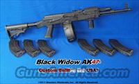 BLACK WIDOW AK47© TACTICAL PACKAGE- CUSTOM BUILT IN THE USA!  AK-47 Rifles (and copies) > Full Stock