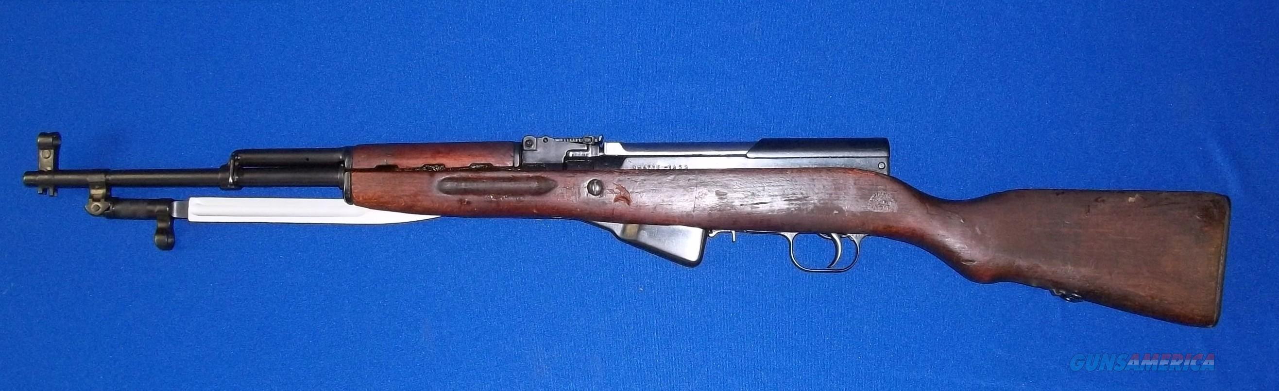 ROMANIAN MODEL 56 SKS MANUFACTURED IN 1959 BY CUGIR FACTORY IN ROMANIA. FEATURES FOLDING BLADE BAYONET AND CHROME LINED BARREL!  Guns > Rifles > SKS Rifles