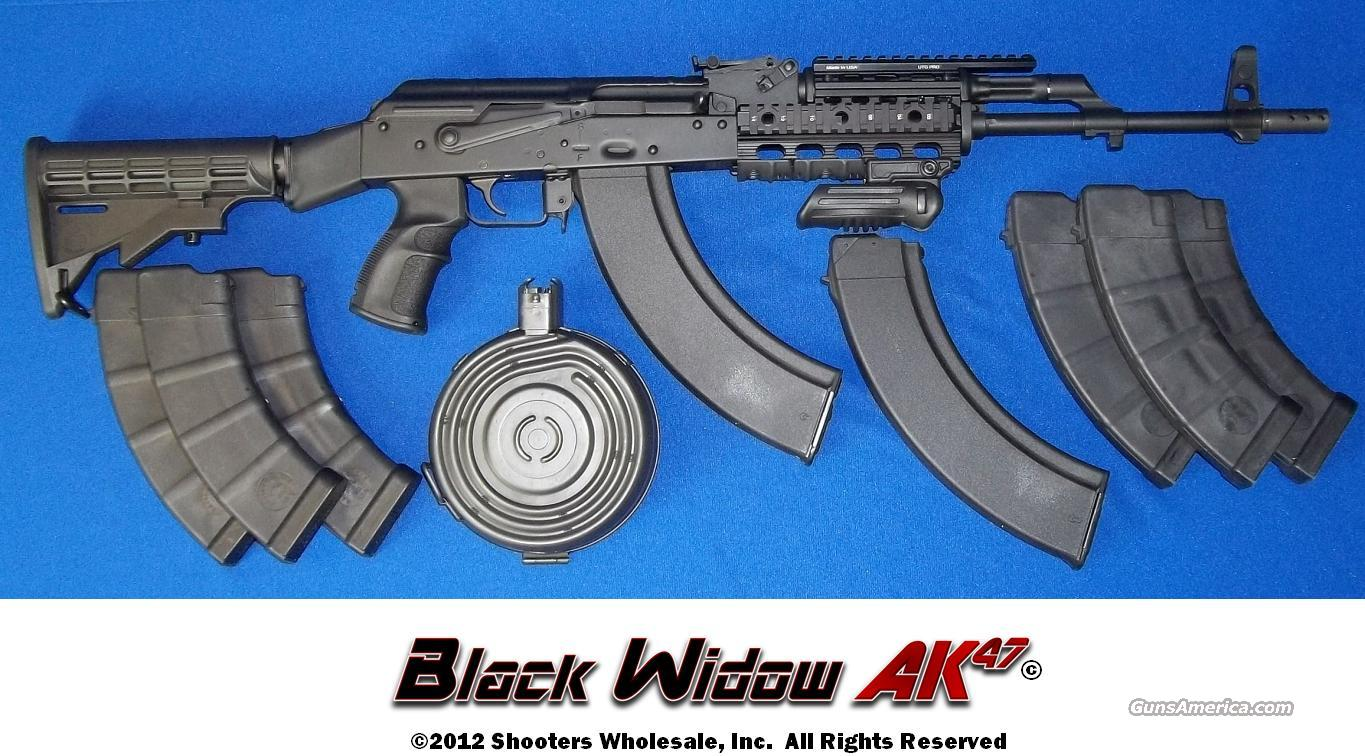 BLACK WIDOW AK47 TACTICAL RIFLE-CUSTOM BUILT IN THE USA!  Guns > Rifles > AK-47 Rifles (and copies) > Full Stock