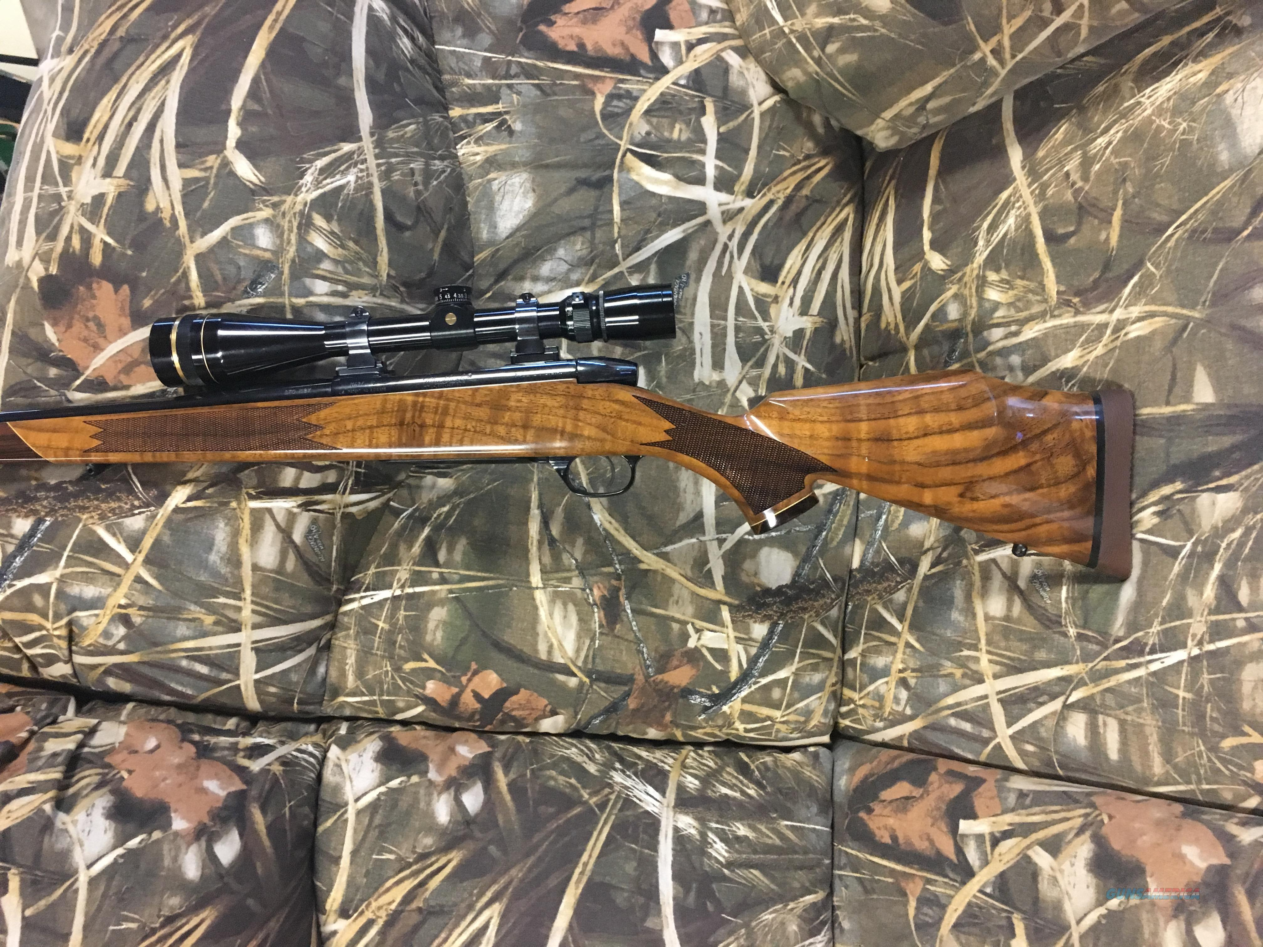 Weatherby Mark V Deluxe Custom Shop 270 WBY w/Custom Shop Leupold  Guns > Rifles > Weatherby Rifles > Sporting