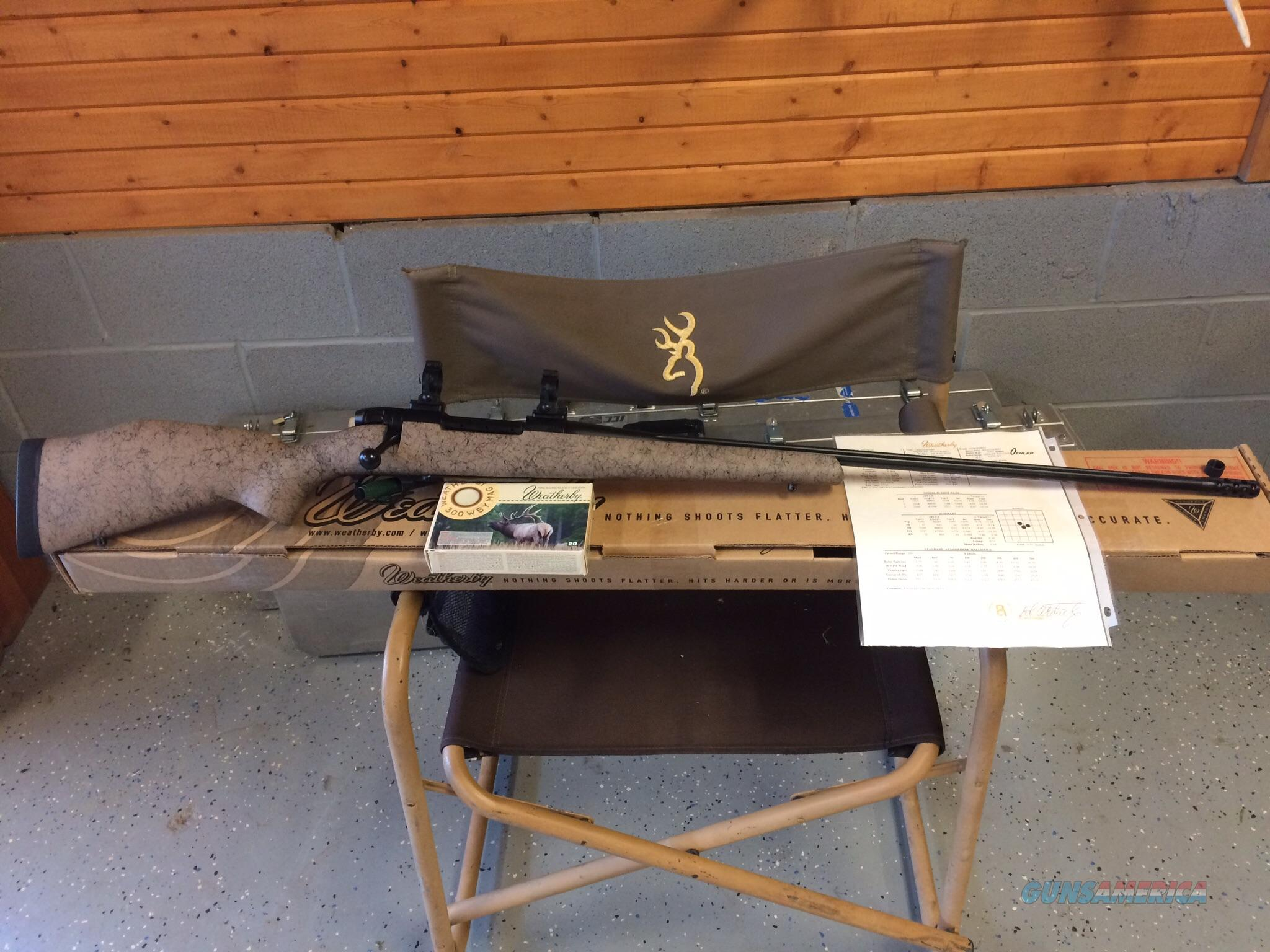 Weatherby Ultralight RC (range certified) Custom Shop 300 WBY  Guns > Rifles > Weatherby Rifles > Sporting