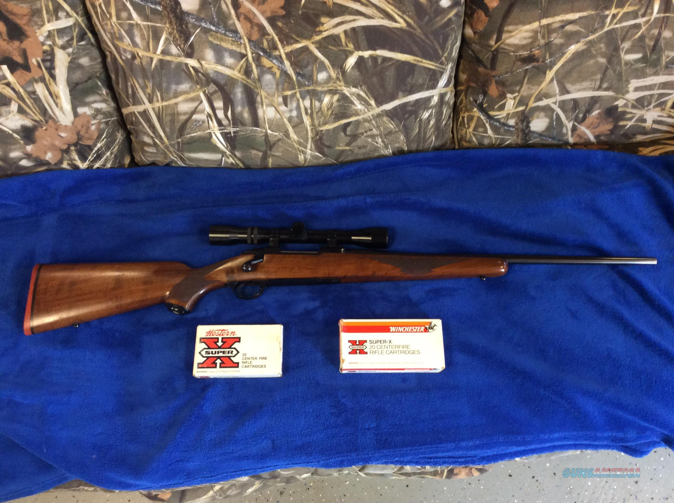 Ruger 77 Flat Bolt (1970) in RARE 284 Winchester W/vintage weaver/ammo  Guns > Rifles > Ruger Rifles > Model 77