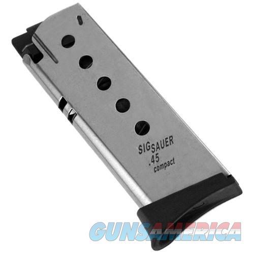 Sig Sauer P245 / P220 Compact 6 Round .45 ACP Magazine 220C-45-6    Non-Guns > Magazines & Clips > Pistol Magazines > Sig