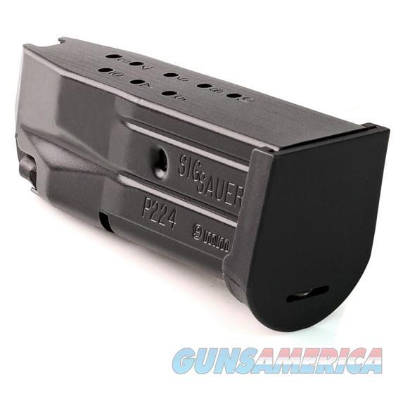 Sig Sauer P224 10 Round 9mm Factory Magazine - New  Non-Guns > Magazines & Clips > Pistol Magazines > Sig