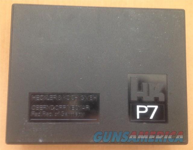 HECKLER & KOCH HK P7 Original Box P7M8  Non-Guns > Gun Cases