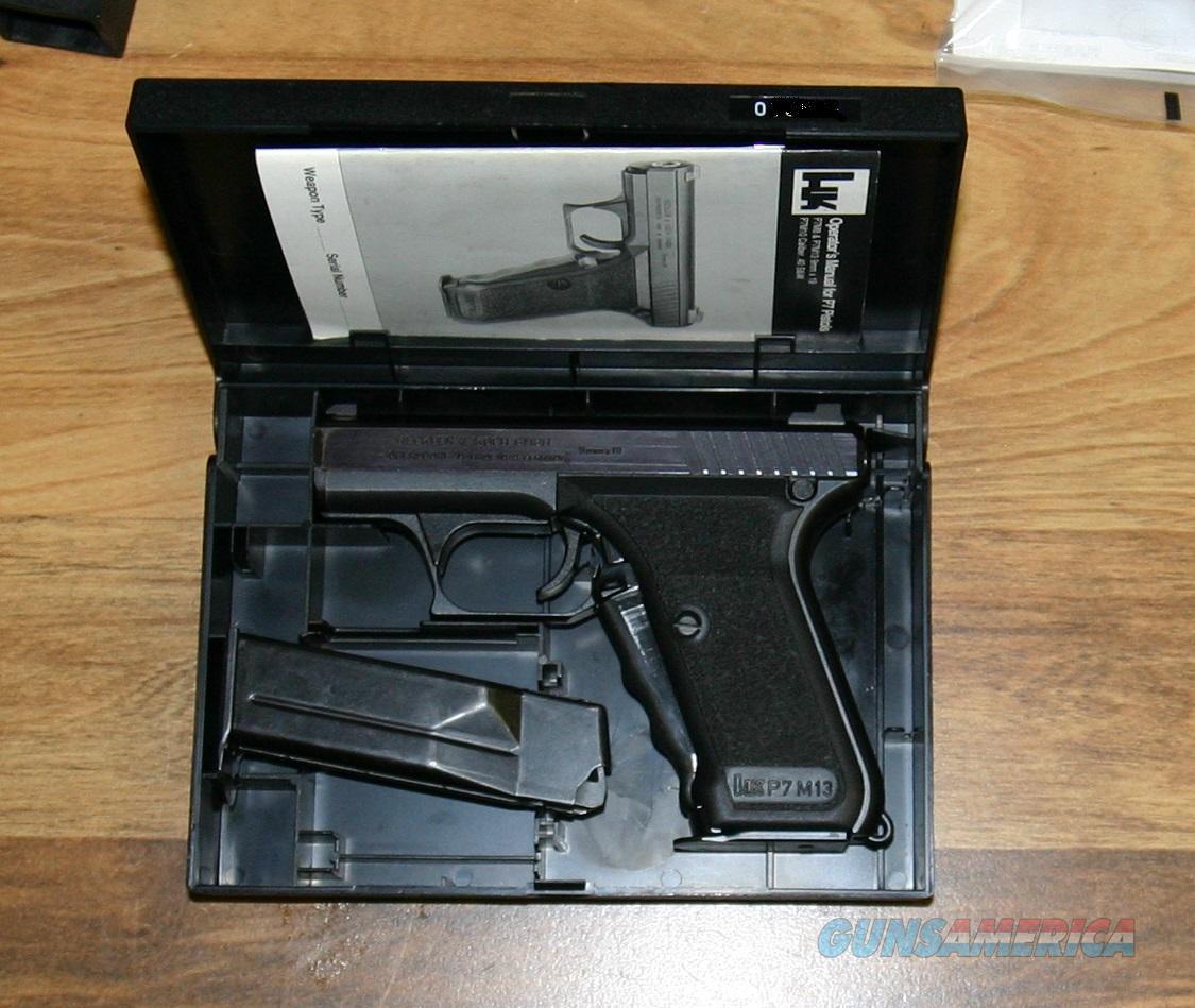 Heckler & Koch P7 M13 Sterling 9mm For Sale