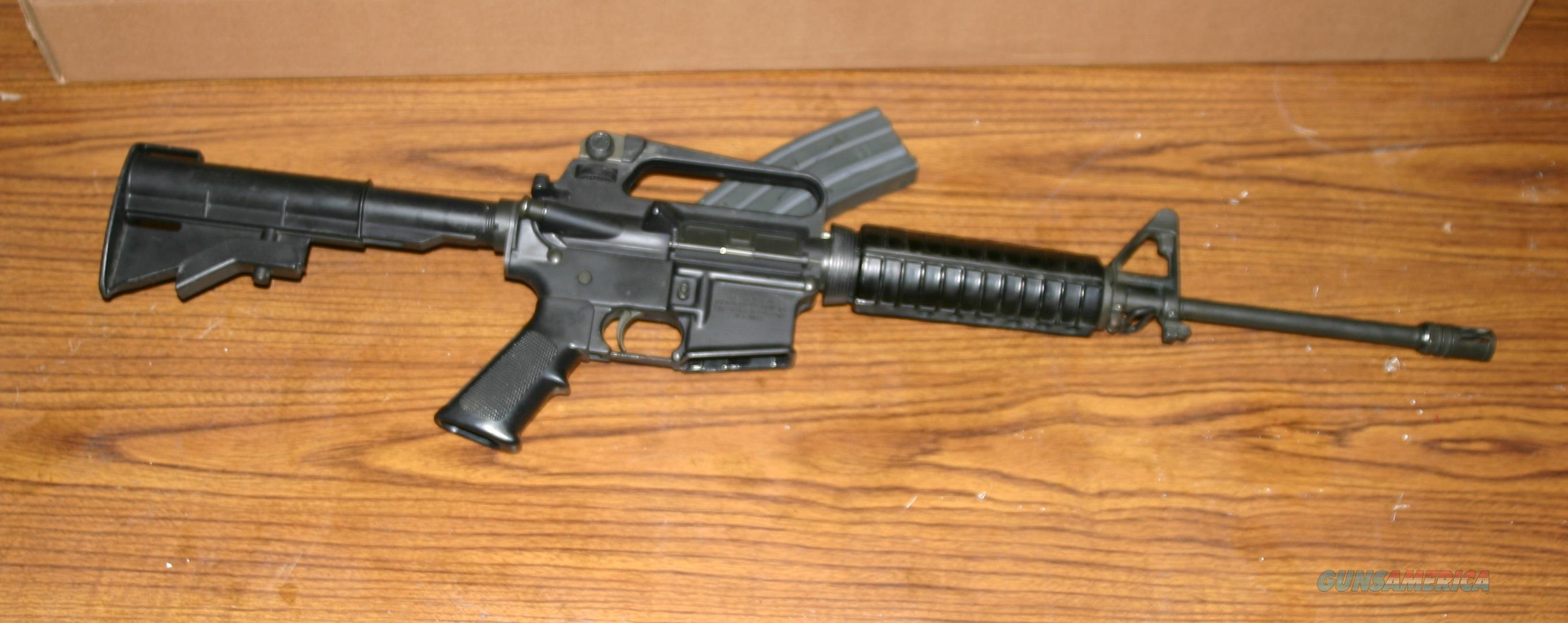"Colt AR-15 A2 AR15 ""RESTRICTED MILITARY LE EXPORT""  Guns > Rifles > Colt Military/Tactical Rifles"