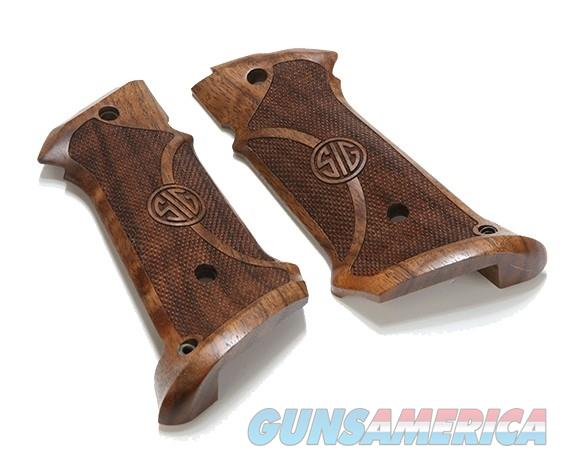 New Factory Sig Sauer 1911 Target Walnut Grips  Non-Guns > Gun Parts > Grips > 1911