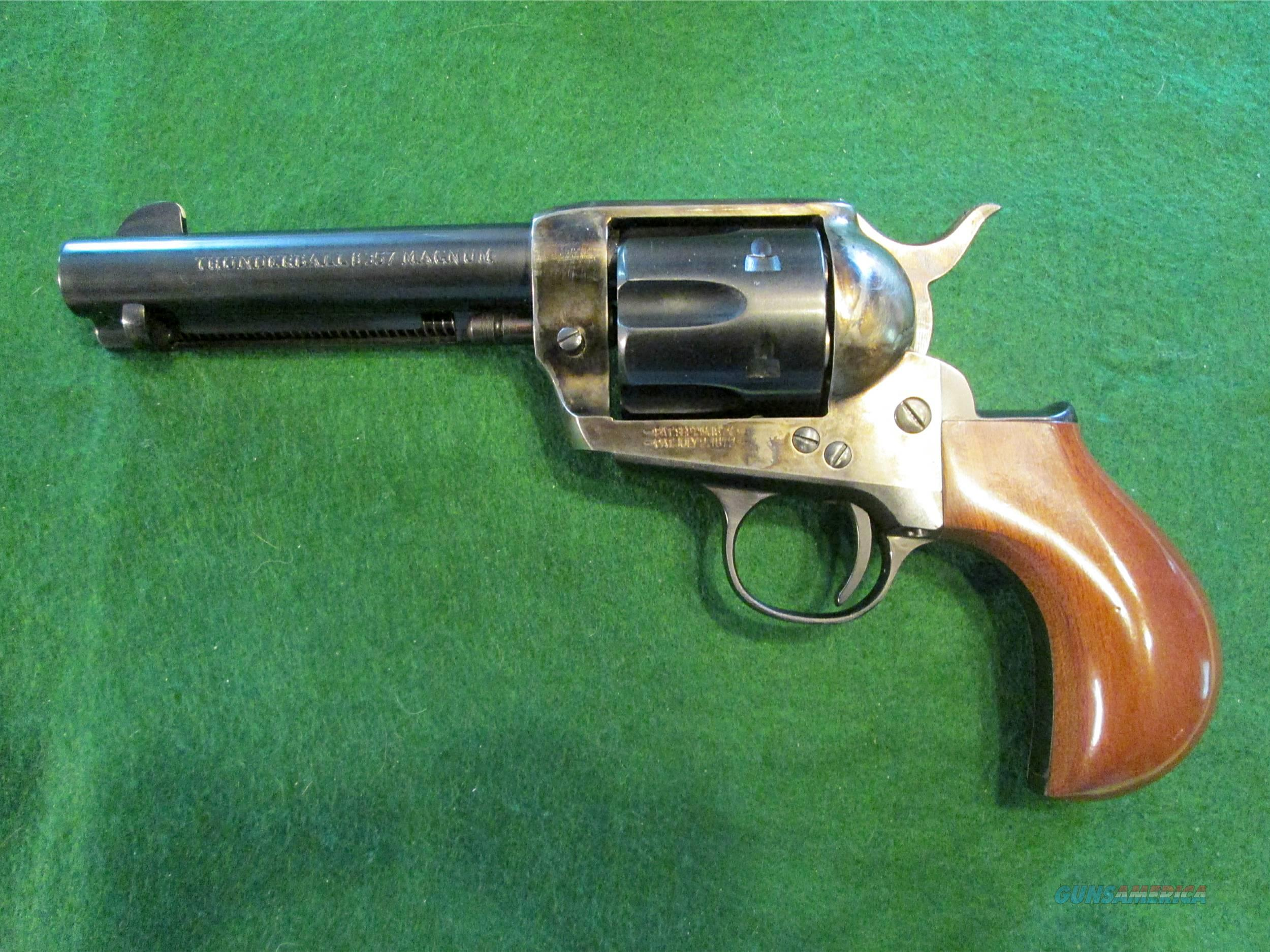 CIMARRON ARMS THUNDERBALL 8 – 357 MAG. - BIRDS HEAD GRIP, LIKE NEW  Guns > Pistols > Cimarron Pistols