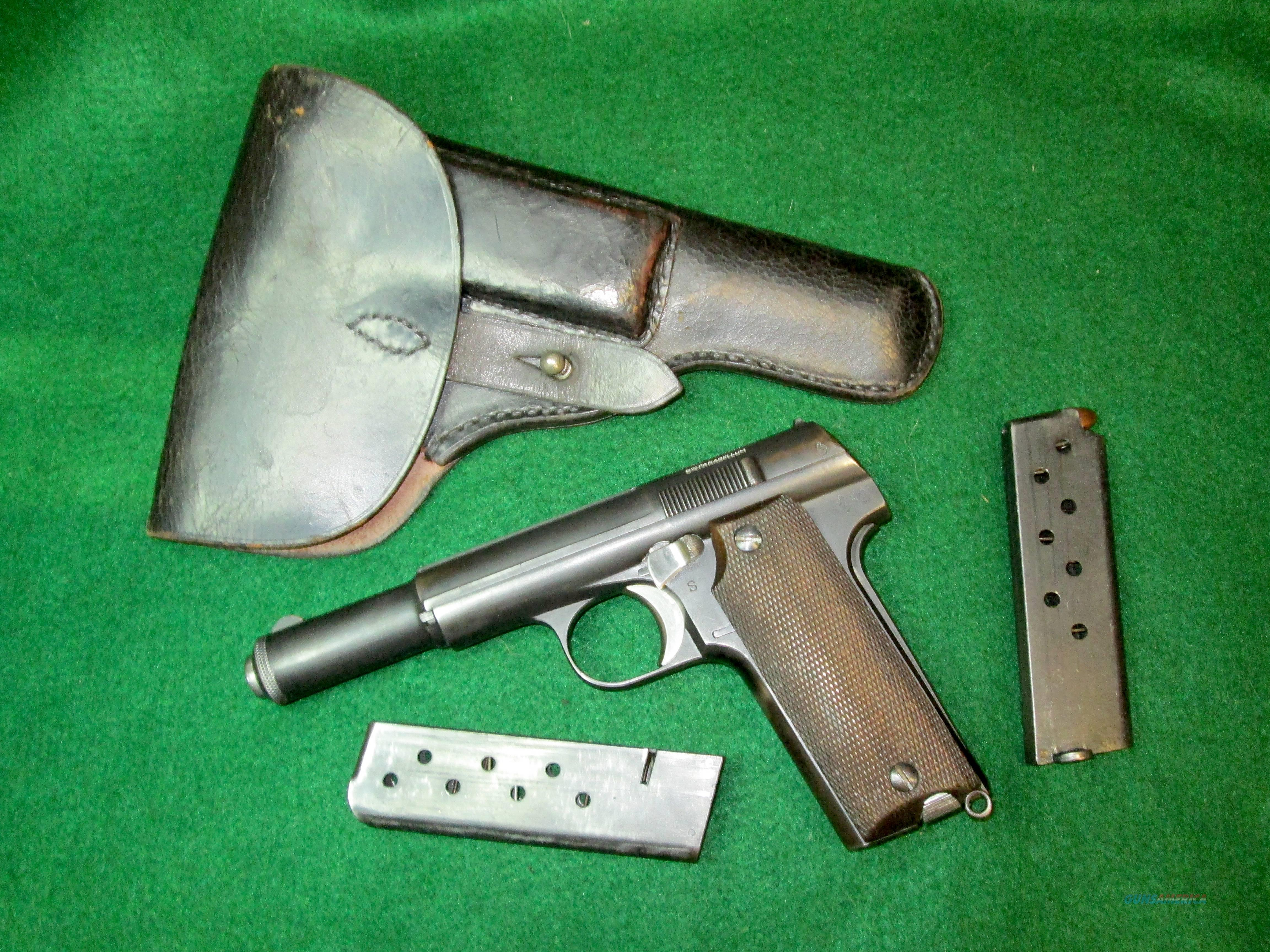 ASTRA 600/43- World War II (1945) Production - ORIGINAL HOLSTER & EXTRA MAG, MATCHING NUMBERS - NOT IMPORT MARKED  Guns > Pistols > Astra Pistols