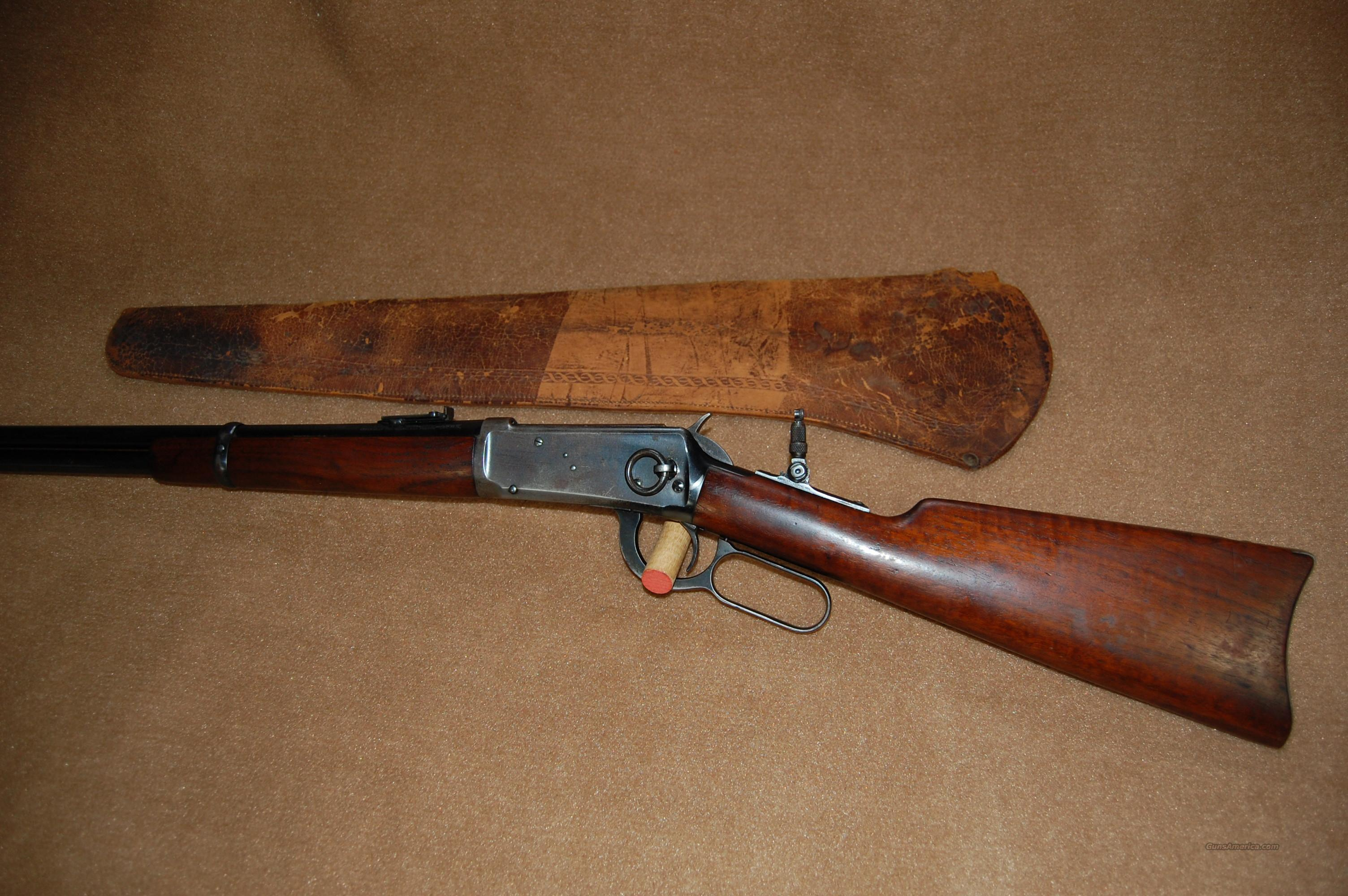 Winchester Saddle Ring Carbine  Guns > Rifles > Winchester Rifles - Modern Lever > Model 94 > Pre-64