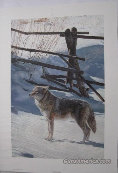 "Terry Isaac's ""Rail Fence-Coyote""  Non-Guns > Artwork"