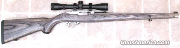 10/22 with Mannlicher stock  Guns > Rifles > Ruger Rifles > 10-22