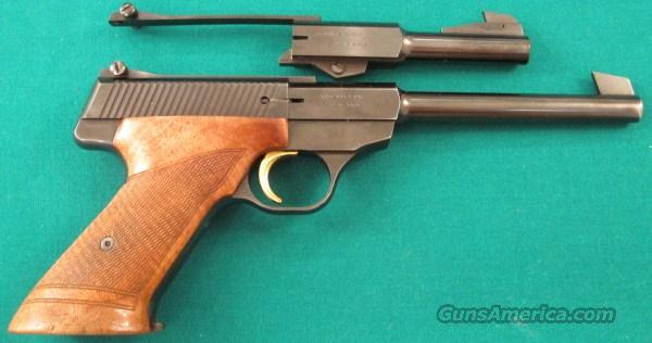 Browning Challenger with two barrels  Guns > Pistols > Browning Pistols > Other Autos