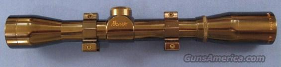 Burris Fullfield 4X with rings  Non-Guns > Scopes/Mounts/Rings & Optics > Rifle Scopes > Fixed Focal Length