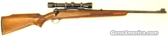 Pre-64 M70 Fwt 270 with Redfield 4X scope  Guns > Rifles > Winchester Rifles - Modern Bolt/Auto/Single > Model 70 > Pre-64