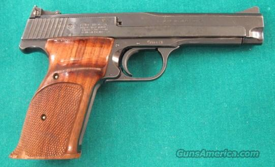 "Scarce 5"" Field barrel with cocked Indicator M41  Guns > Pistols > Smith & Wesson Pistols - Autos > .22 Autos"