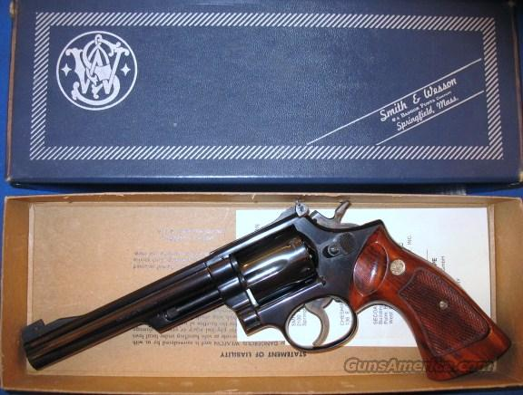 S&W M19-3 in box  Guns > Pistols > Smith & Wesson Revolvers > Full Frame Revolver