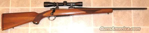 Early tang safety M77 in 6mm with 2-7X Leupold  Guns > Rifles > Ruger Rifles > Model 77