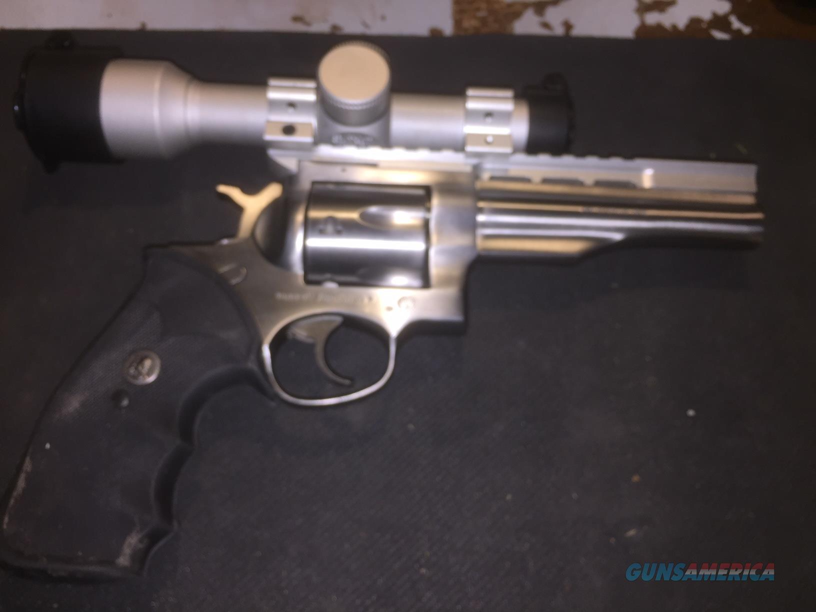 """Ruger Redhawk 44 Mag 5.5"""" bbl Stainless w/ Scope  Guns > Pistols > Ruger Double Action Revolver > Redhawk Type"""