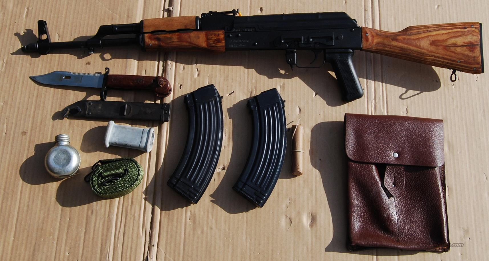 Romanian AK47 Factory New Cal. 7.62x39  Guns > Rifles > AK-47 Rifles (and copies) > Full Stock