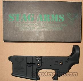 Stag Arms AR15 Stripped Lower  Guns > Rifles > AR-15 Rifles - Small Manufacturers > Lower Only