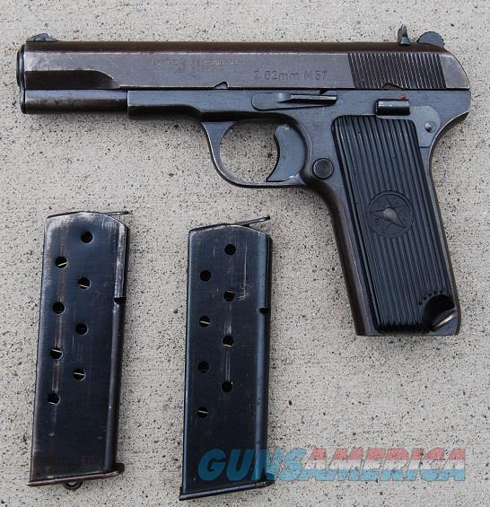 Yugoslavian Md57 Tokarev Pistol Cold War Two Ma... For Sale