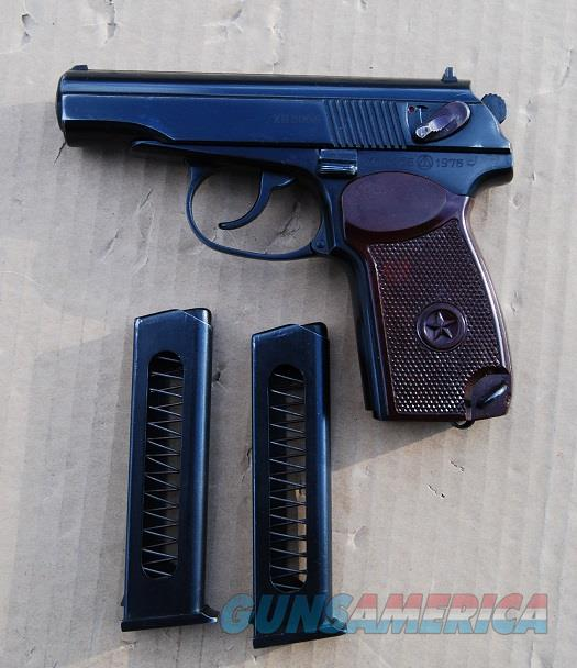 Makarov Russian Cold War Dated 1976  Guns > Pistols > Military Misc. Pistols Non-US
