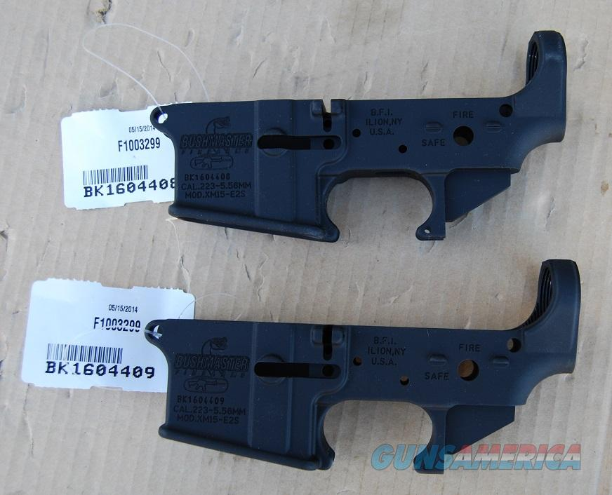 Bushmaster AR 15 Lowers Consecutive Pair  Guns > Rifles > Bushmaster Rifles > Lower Only