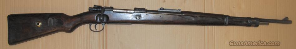 98K Mauser Caliber 8mm Russian Capture  Guns > Rifles > Mauser Rifles > German