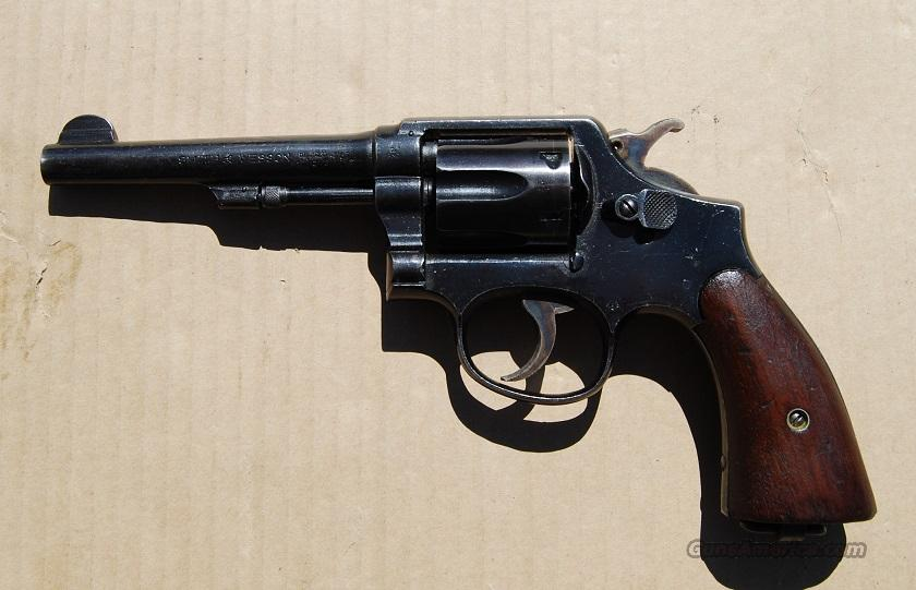 S&W Victory Revolver WWII British Proofs  Guns > Pistols > Military Misc. Pistols US > Other