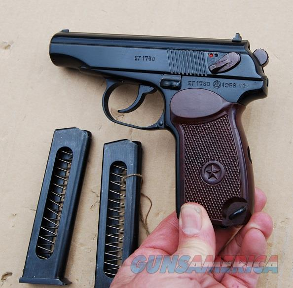 Makarov Russian Cold War Dated 1966  Guns > Pistols > Military Misc. Pistols Non-US