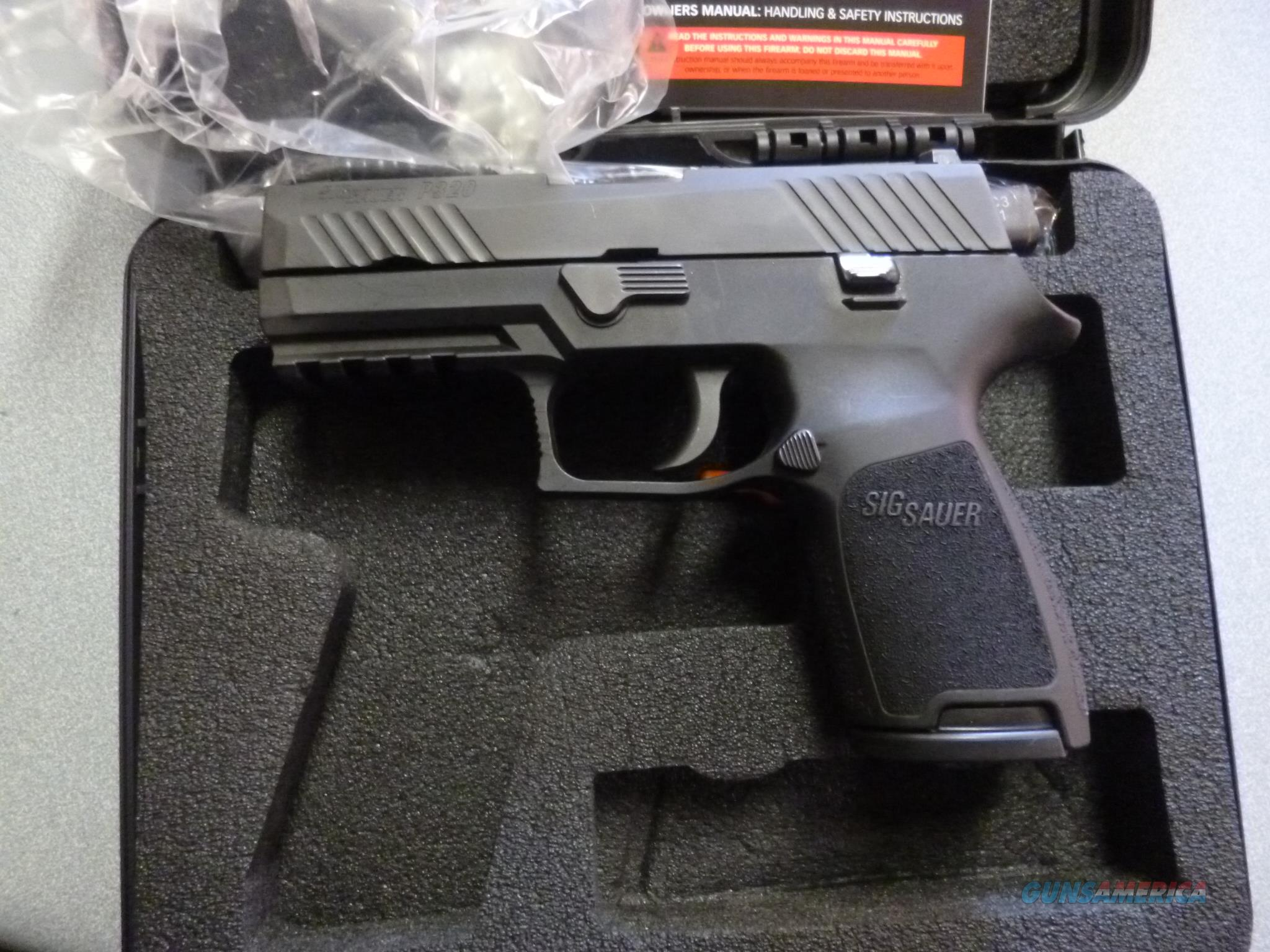 SIG p320 45 ACP with night sights and 3 mags  Guns > Pistols > Sig - Sauer/Sigarms Pistols > P320
