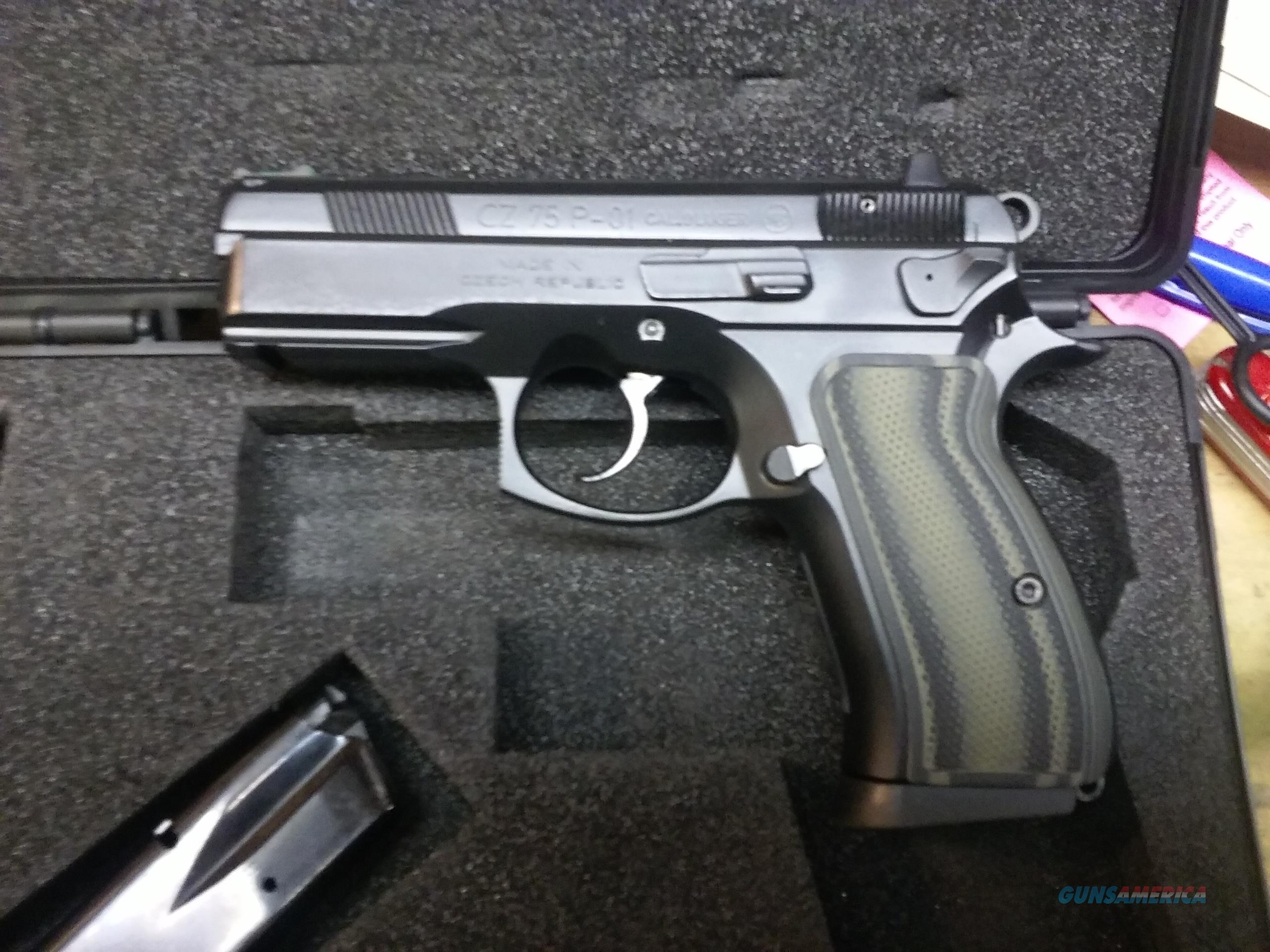 CZ 75 PO1 9MM CUSTOM DEFENSIVE CARRY PACKAGE ! NICE !  Guns > Pistols > CZ Pistols