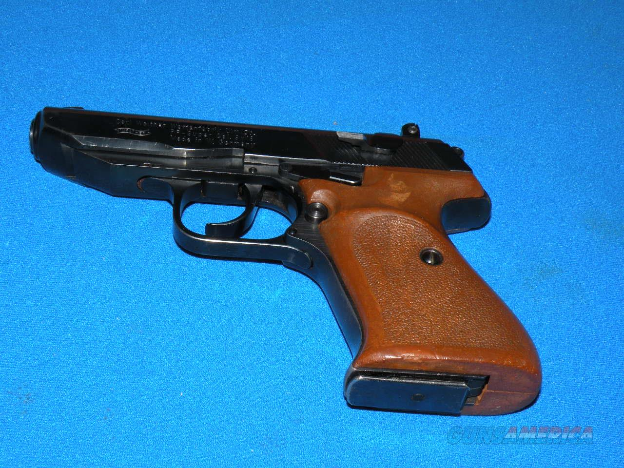 Walther PP Super  Ultra 9x18 West German  Guns > Pistols > Walther Pistols > Post WWII > Target Pistols
