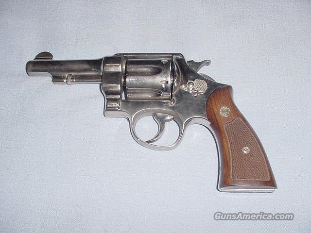 "S&W Nickel 1917 Hand Ejector 4"" .45 Long Colt   Guns > Pistols > Smith & Wesson Revolvers > Full Frame Revolver"