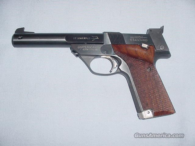 "High Standard Supermatic Citation .22 LR w/5 1/2"" bbl.  Guns > Pistols > High Standard Pistols"