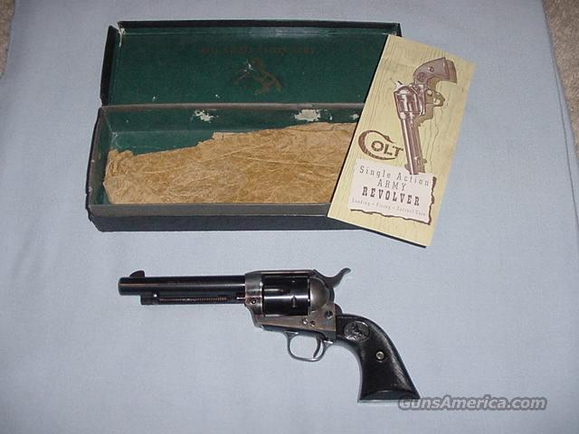 Colt 2nd Generation Single Action Army .38 Spl.  Guns > Pistols > Colt Single Action Revolvers - 2nd Gen.