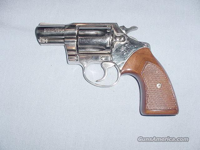 "Nickel Colt Detective Special w/2"" barrel   Guns > Pistols > Colt Double Action Revolvers- Modern"