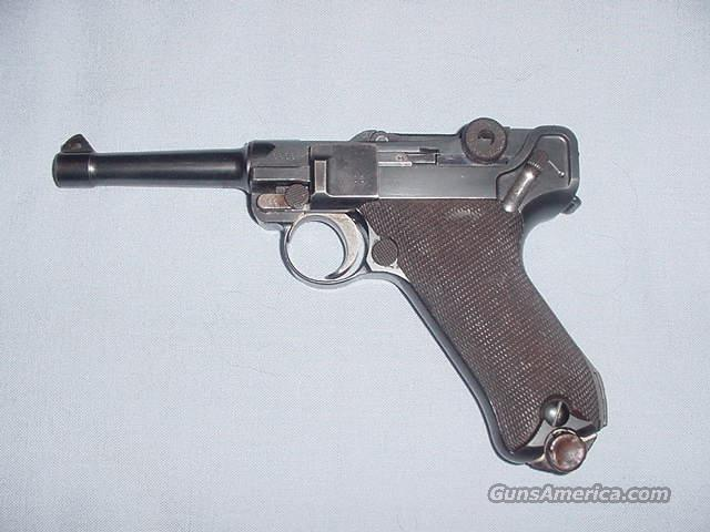 WWI German Luger P.08 9mm made in 1915   Guns > Pistols > Luger Pistols