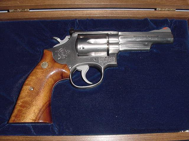 S&W Model 66-1 125 year Chicago Police Commemorative  Guns > Pistols > Smith & Wesson Revolvers > Full Frame Revolver