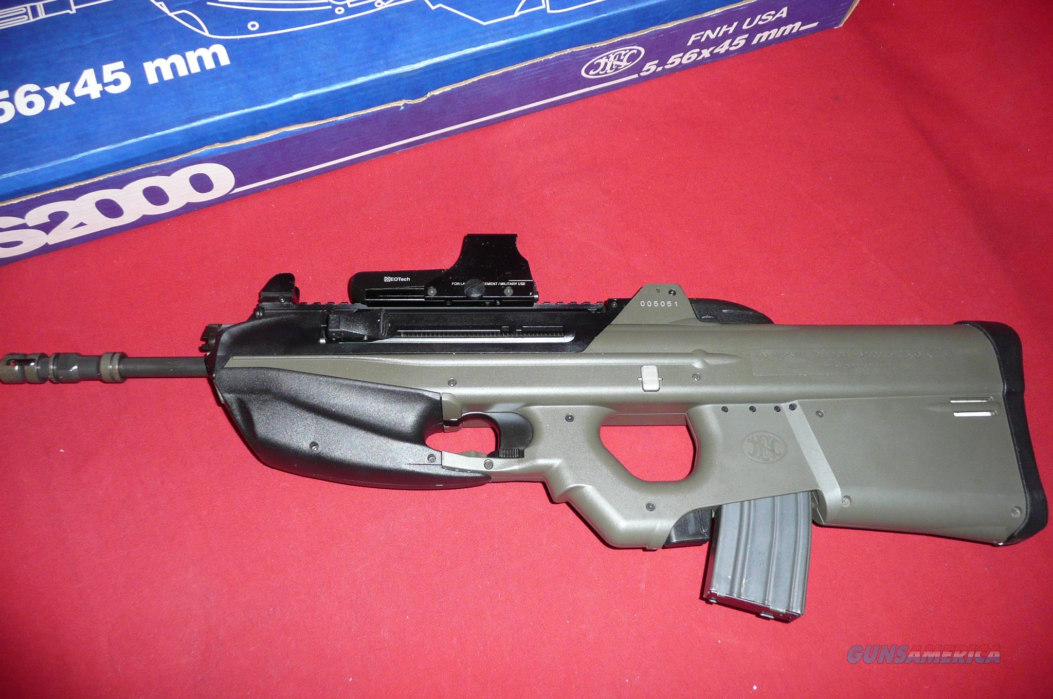FN   FS 2000  TACTICAL  W/EO-TECH SIGHTS 2 30 ROUND MAGS   Guns > Rifles > FNH - Fabrique Nationale (FN) Rifles > Semi-auto > Other