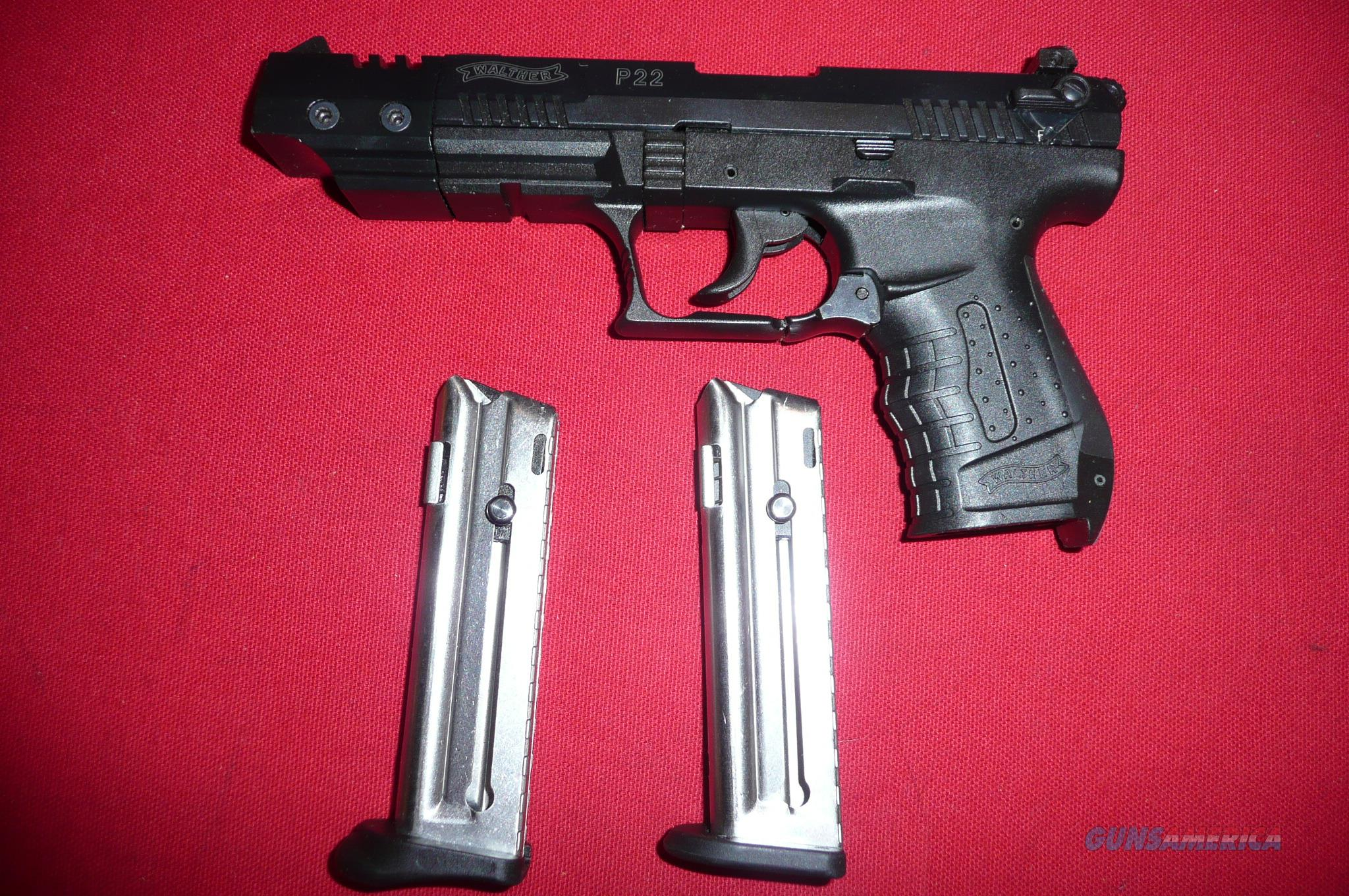 WALTHER  P22 TARGET NEW UNFIRED NO BOX SER# N063798  Guns > Pistols > Walther Pistols > Post WWII > P22