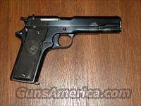 STAR MODEL A  1922    9mm Largo/38 ACP  Guns > Pistols > Star Pistols